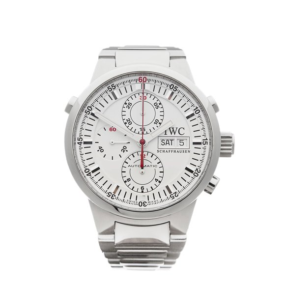 IWC GST Rattrapante Chronograph Stainless Steel - IW371523