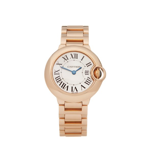 Cartier Ballon Bleu 18k Rose Gold - W69002Z2 or 3007