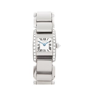Cartier Tankissime Diamond 18k White Gold - 2831