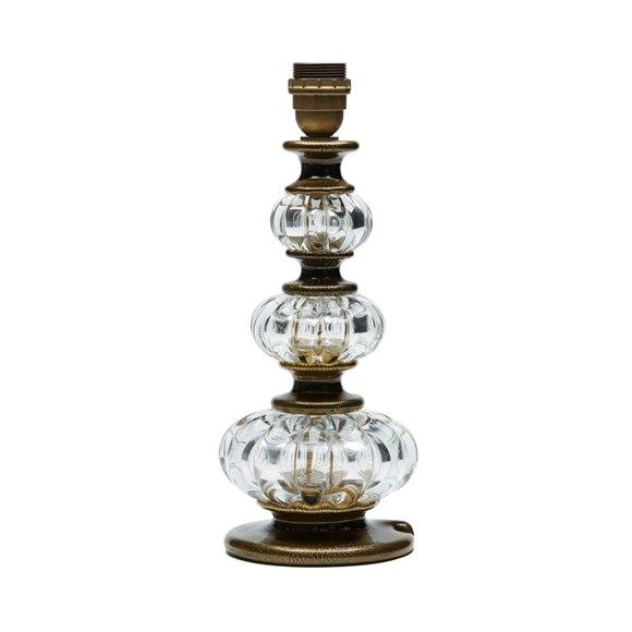ARCHIMEDE SEGUSO MURANO ART GLASS LAMP BASE c.1960