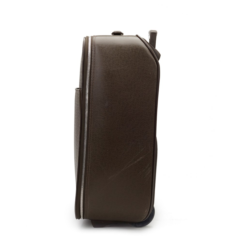 Louis Vuitton Brown Taiga Leather Pegase 45 Rolling Case
