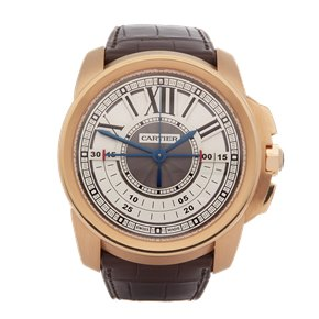 Cartier Calibre Central Chronograph Rose Gold - W7100004 or 3242