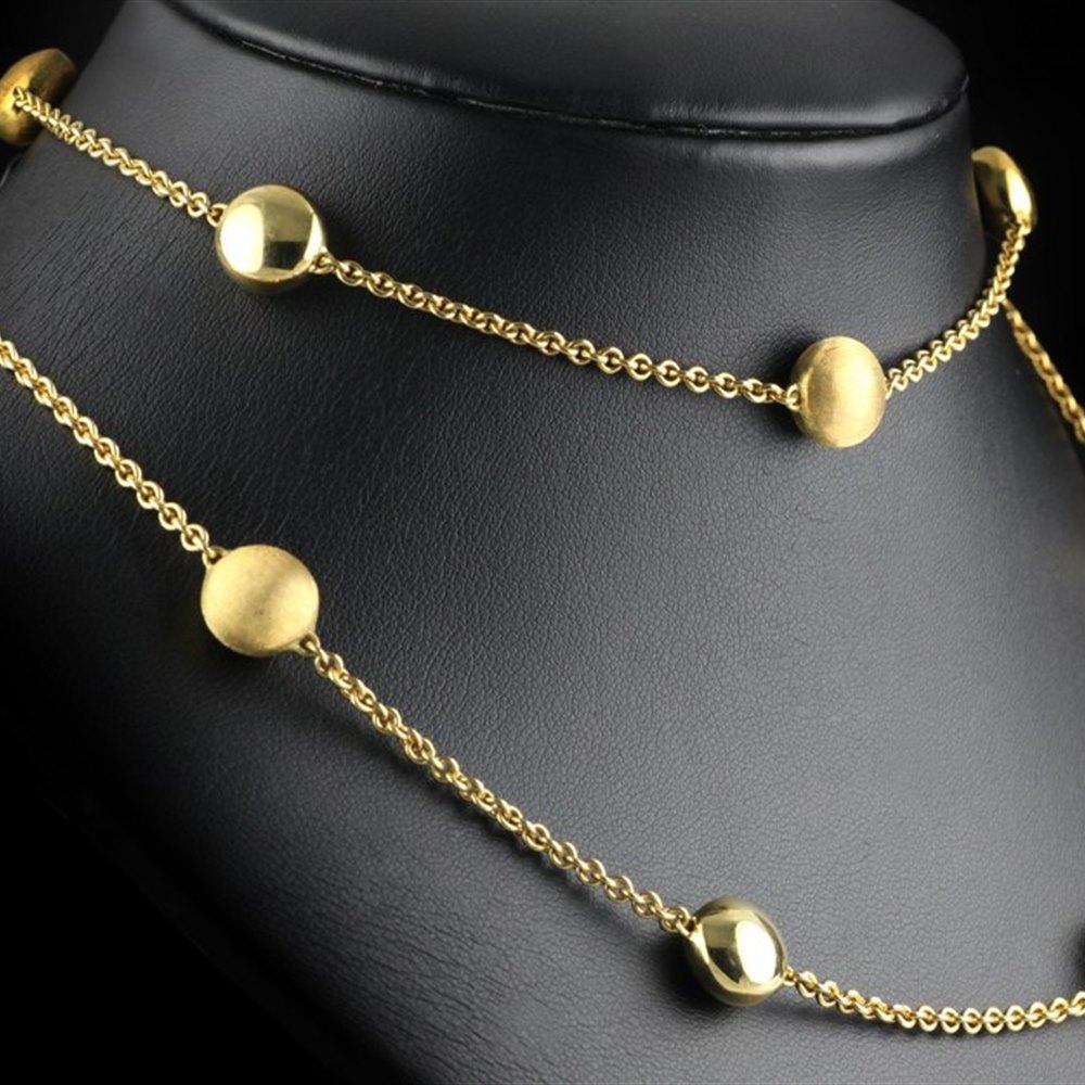 Chimento 18K Yellow Gold Sigilli Lariat Necklace