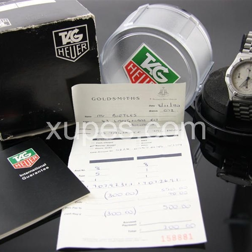 Tag Heuer Professional Stainless steel