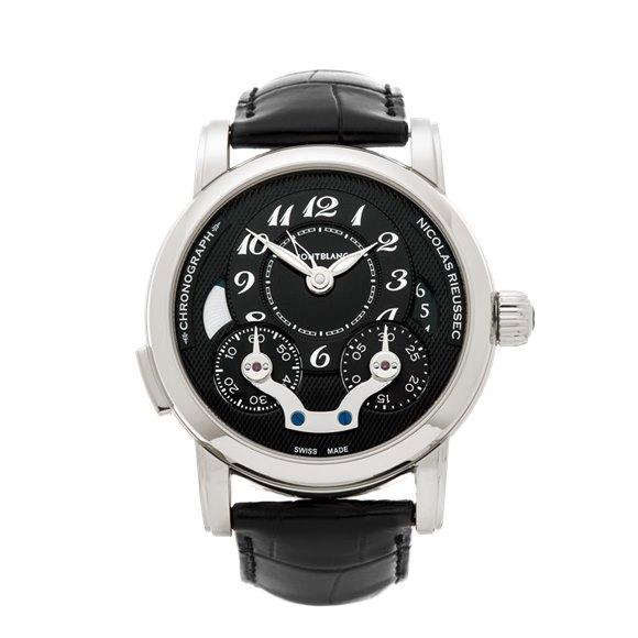 Montblanc Nicolas Rieussec Chronograph Stainless Steel - 106488