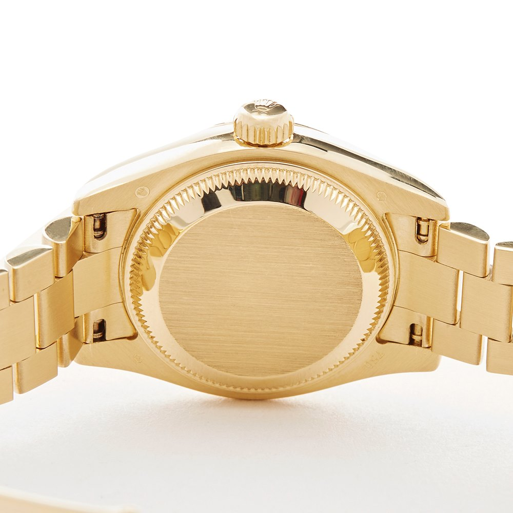 Rolex DateJust 26 Diamond 18k Yellow Gold 179368