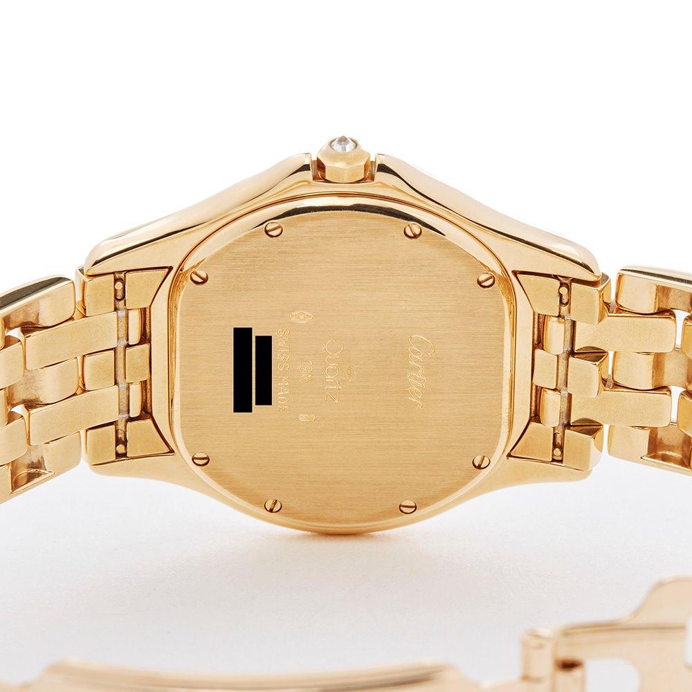 Cartier Panthère Cougar Diamond 18k Yellow Gold W35019L3 or 1165