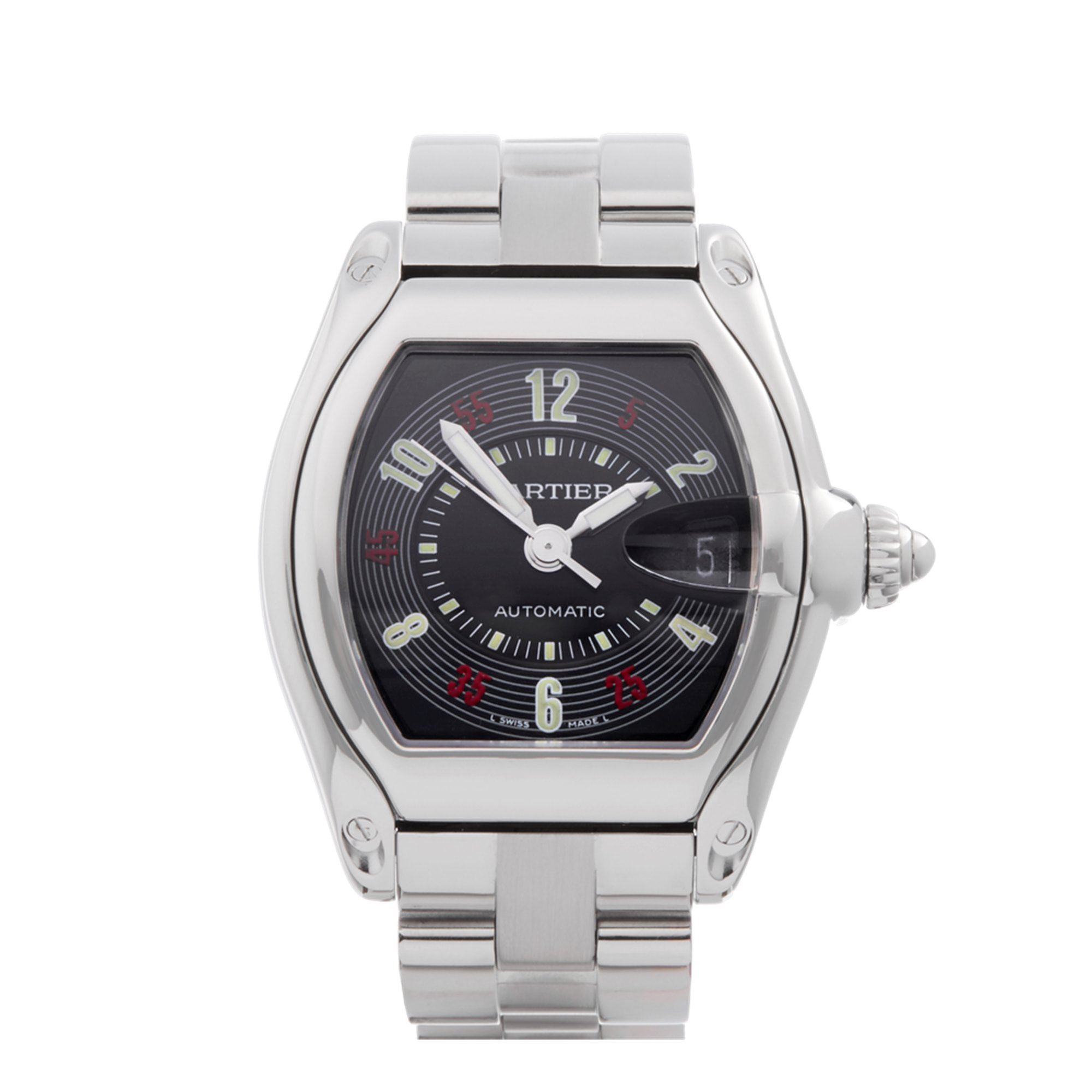 Cartier Roadster Stainless Steel W62002V3 or 2510