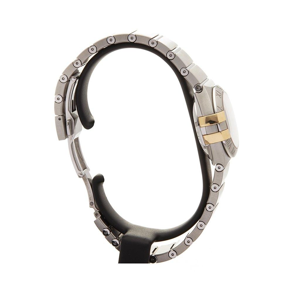 Omega Constellation Diamond Stainless Steel & Yellow Gold 123.20.27.20.57.003