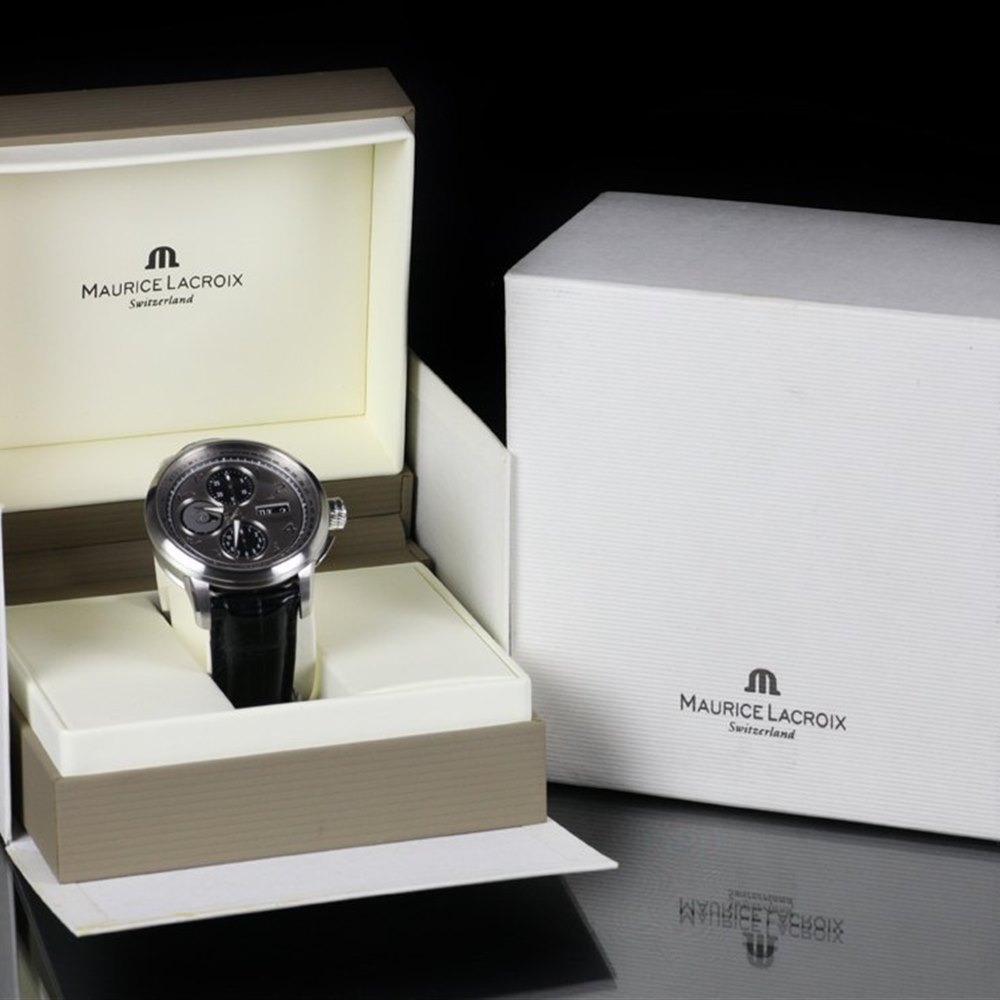 Maurice Lacroix Masterpiece Stainless Steel MP6348-SS001-12E or MP6348SS00212E