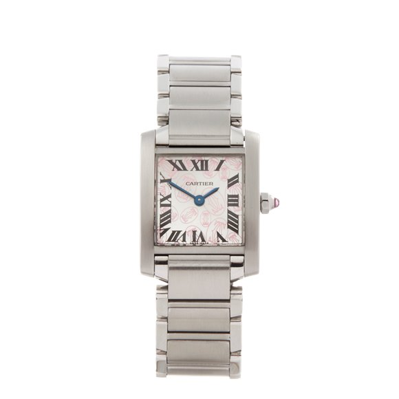 Cartier Tank Francaise Anniversary Stainless Steel - W51008Q3 or 2384