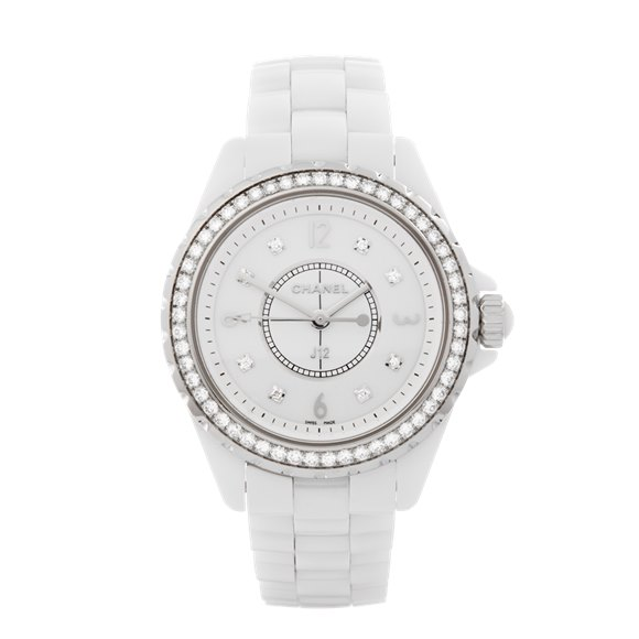 Chanel J12 Diamond Ceramic - H3110