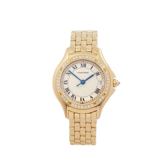 Cartier Panthère Cougar Diamond Yellow Gold - WF8004F9 or 1161