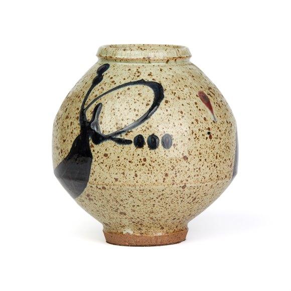 Wayne Ngan Studio Pottery Vase 20th C.