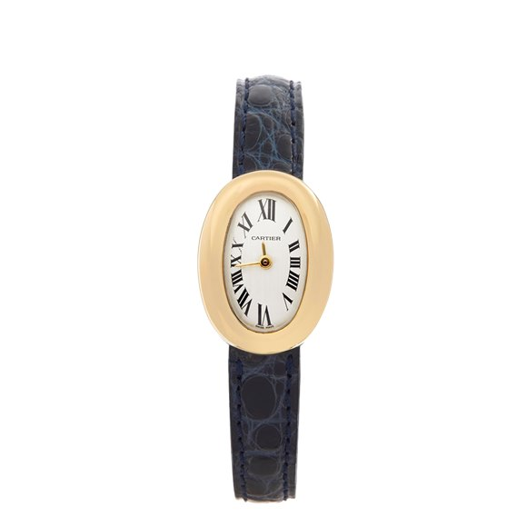 Cartier Baignoire Mini 18k Yellow Gold - W1536699 or 2368