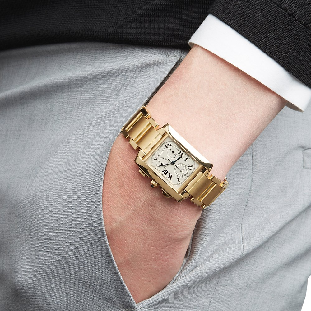 Cartier Tank Francaise Yellow Gold W50005R2 or 1830