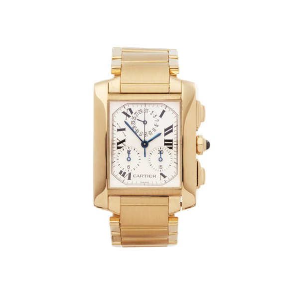 Cartier Tank Francaise Yellow Gold - W50005R2 or 1830