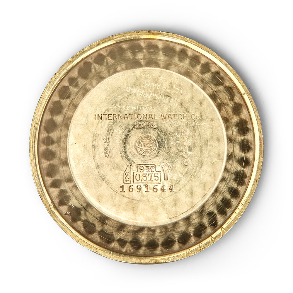 IWC Vintage 9k Yellow Gold 1263131