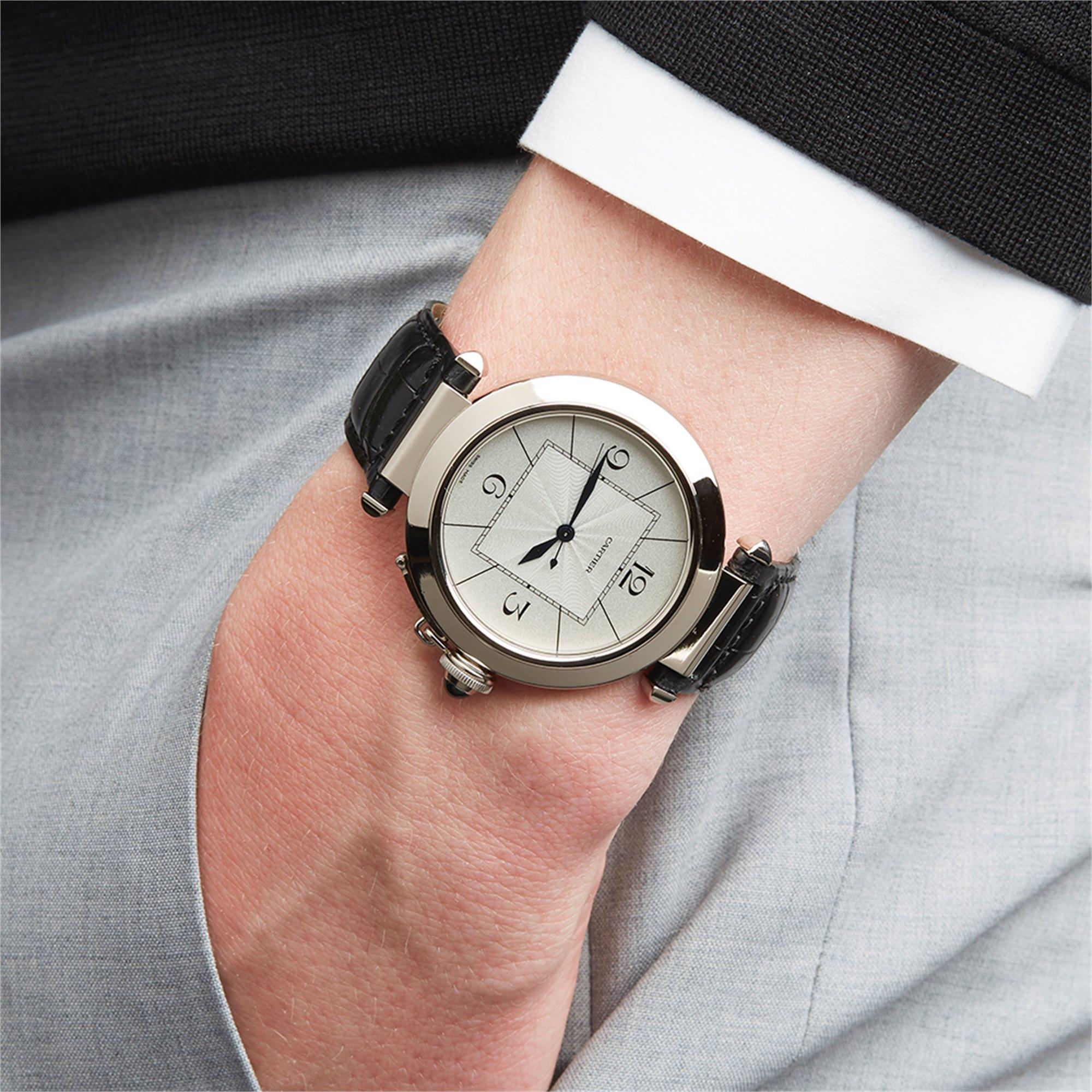 Cartier Pasha de Cartier 18k White Gold W3018751