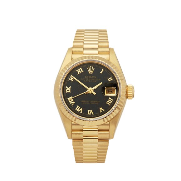 Rolex Datejust 26 Blood Stone Yellow Gold - 69178