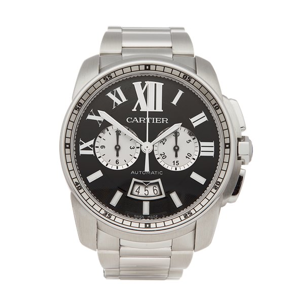 Cartier Calibre Stainless Steel - W7100061 or 3578