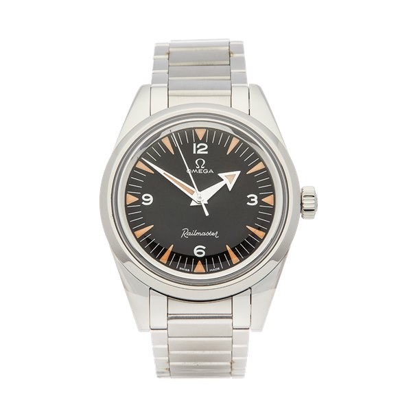 Omega Railmaster Limited Edition 60th Stainless Steel - 220.10.38.20.01.002