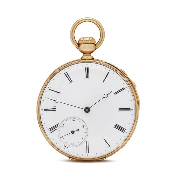 Patek Philippe Pocket Watch Quarter Minute Repeater, Charles Klaftenberger 9k Yellow Gold - N/A
