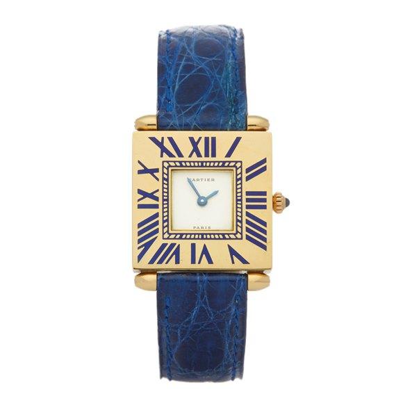 Cartier Quadrante 18k Yellow Gold - 895700EB or 0100