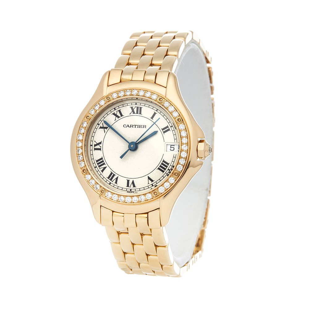 Cartier Panthère Cougar Diamond Yellow Gold WF8004F9 or 1161