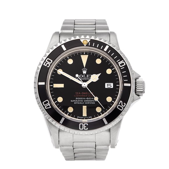 Rolex Sea-Dweller Double Red Drsd Stainless Steel - 1665