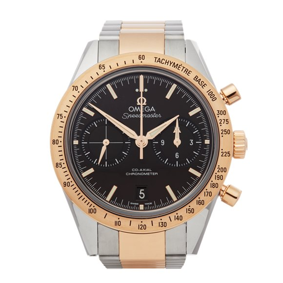 Omega Speedmaster 57 Chronograph Stainless Steel & Rose Gold - 331.20.42.51.01.002