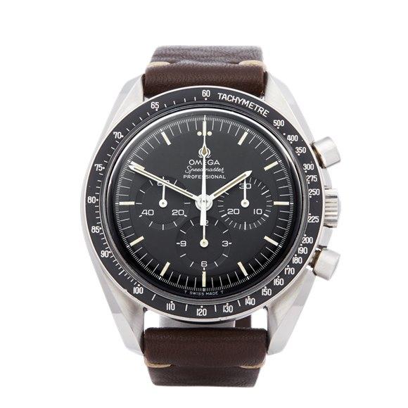 Omega Speedmaster Straight Writing Chronograph Stainless Steel - 145.02199999999999