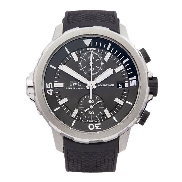 IWC Aquatimer Shark Edition Chronograph Stainless Steel - IW379506