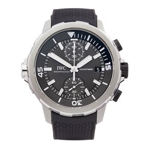 IWC Aquatimer Shark Edition Chronograph Stainless Steel - IW379506