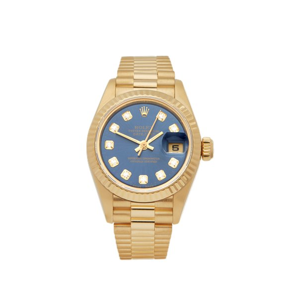 Rolex DateJust 26 Diamond 18k Yellow Gold - 69178