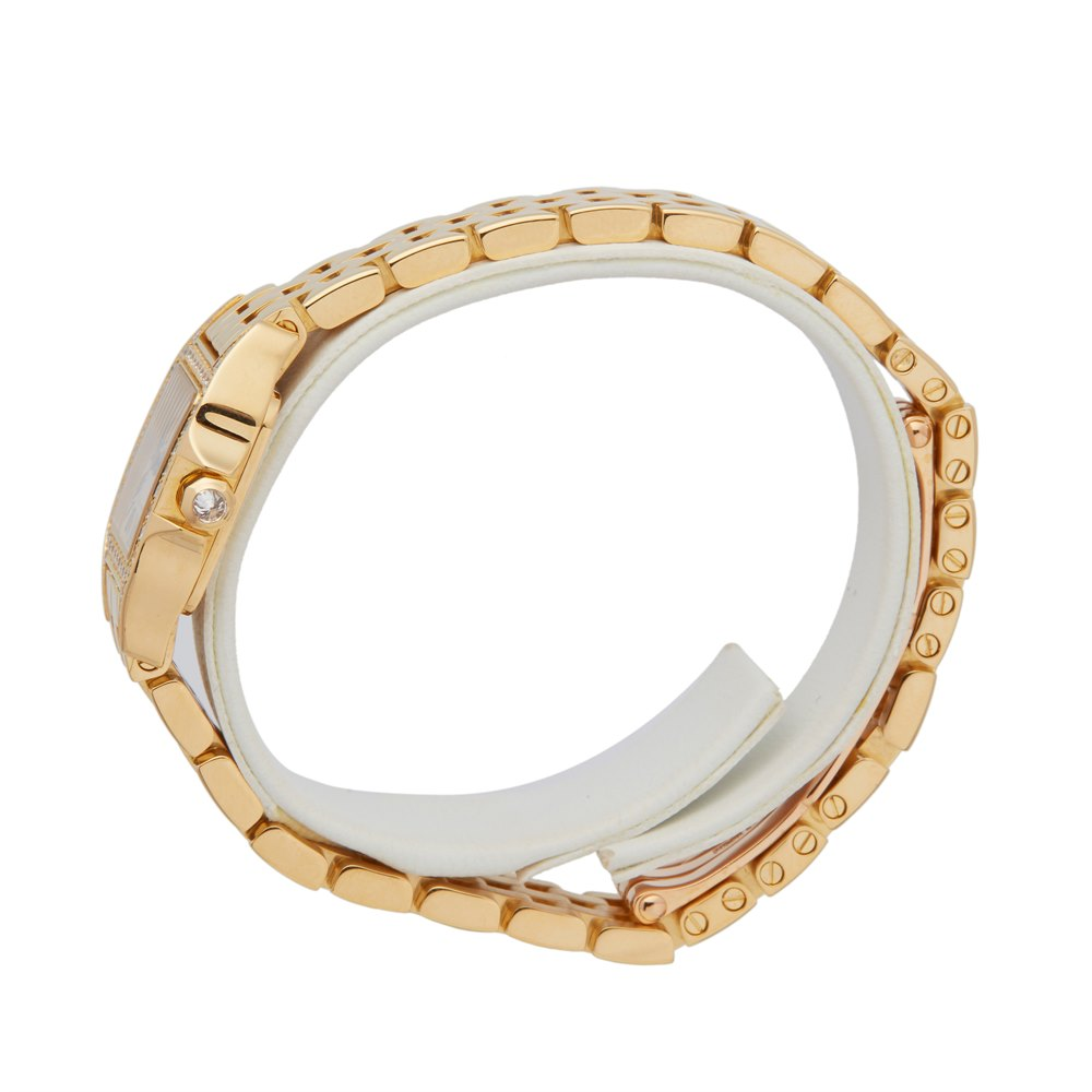 Cartier Panthère Diamond 18k Yellow Gold WF9006Y7 or 2853