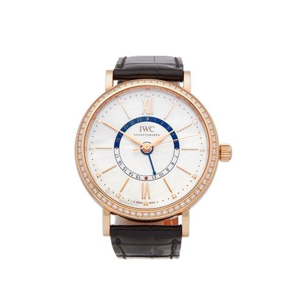 IWC Portofino Diamond 18k Rose Gold - IW459102