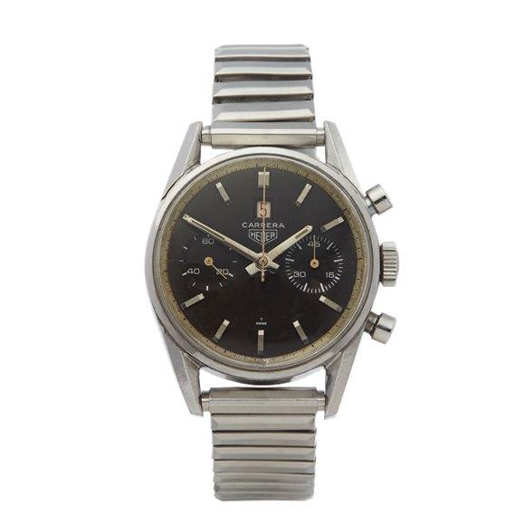 Heuer Carrera Chronograph Stainless Steel - 3147 N
