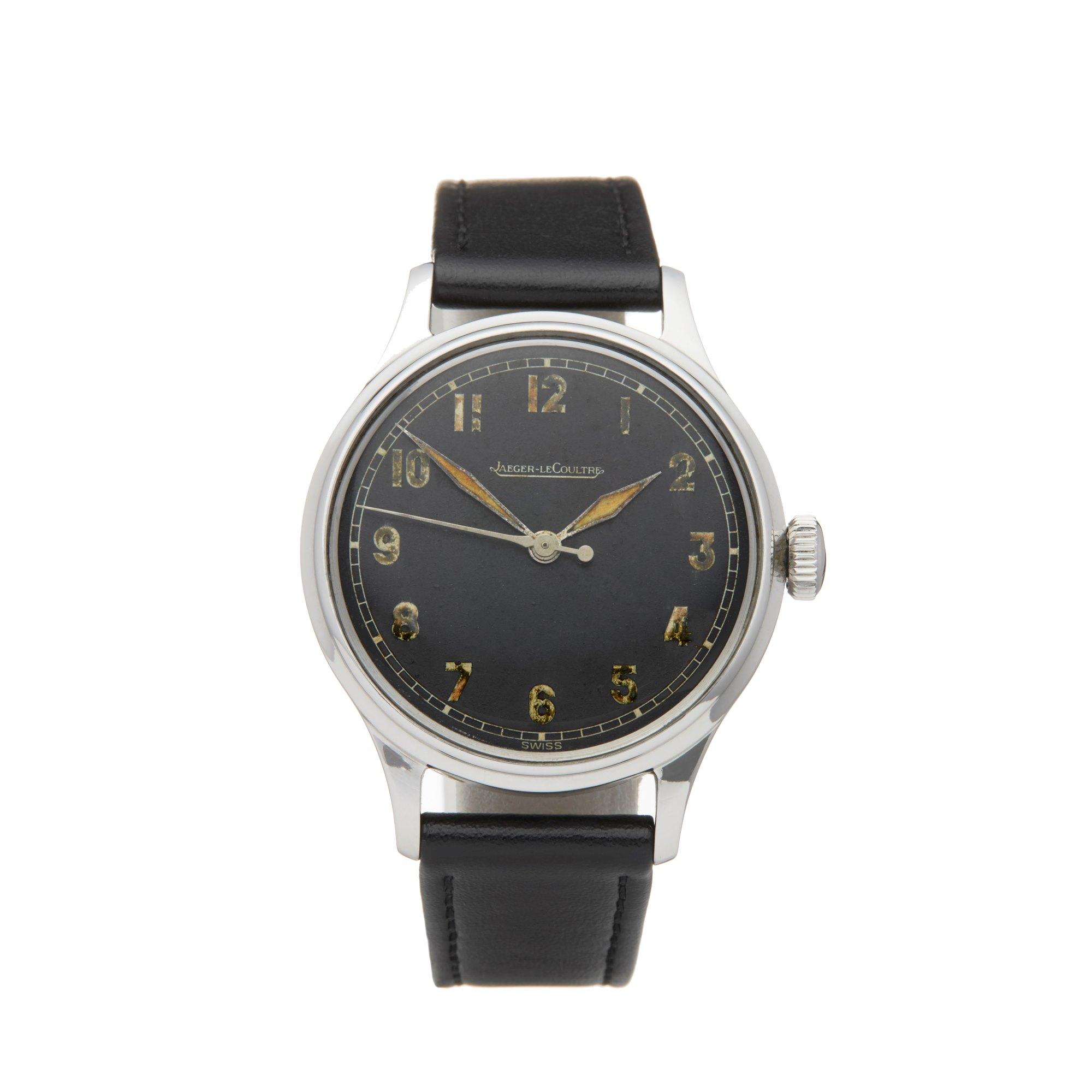 Jaeger-LeCoultre Vintage Stainless Steel Cal.P/468