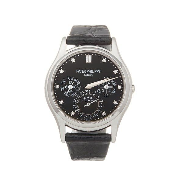 Patek Philippe Perpetual Calendar Grand Complications Diamond Platinum - 5140P