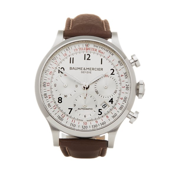 Baume & Mercier Capeland Chronograph Stainless Steel - 65687