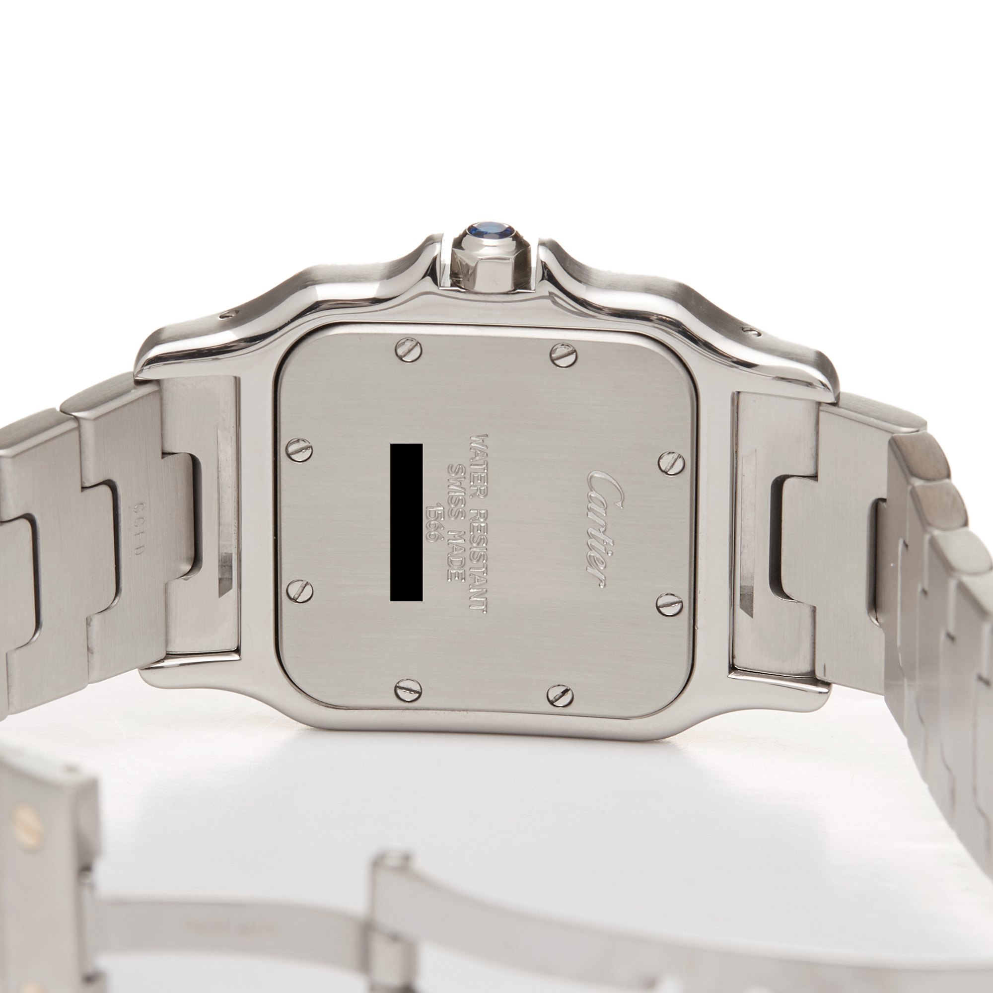 Cartier Santos Galbee Stainless Steel & Yellow Gold W20103C4 or 1567