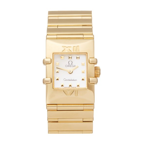 Omega Constellation Quadra 18k Yellow Gold - 7951.235