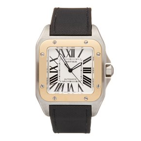 Cartier Santos 100 Stainless Steel & Yellow Gold - W20072X7 or 2656