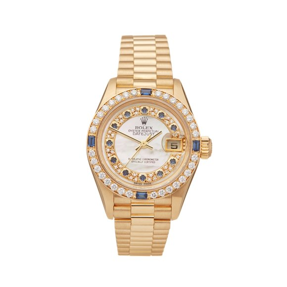 Rolex DateJust 26 Diamond 18k Yellow Gold - 79088