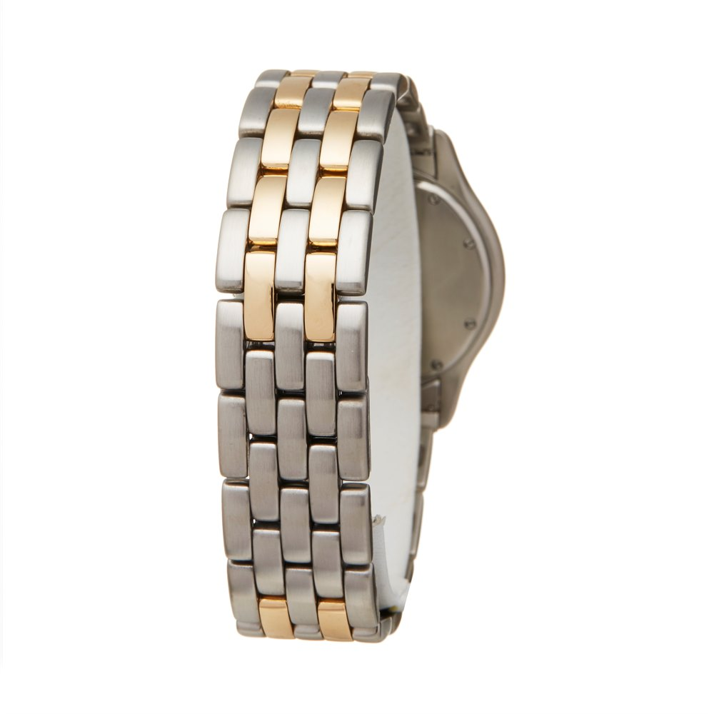 Cartier Panthère Cougar Stainless Steel & Yellow Gold W35006B6 or 1180