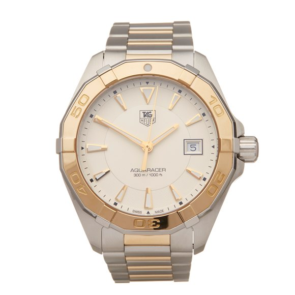 Tag Heuer Aquaracer Stainless Steel & Yellow Gold - WAY1151.BD0912