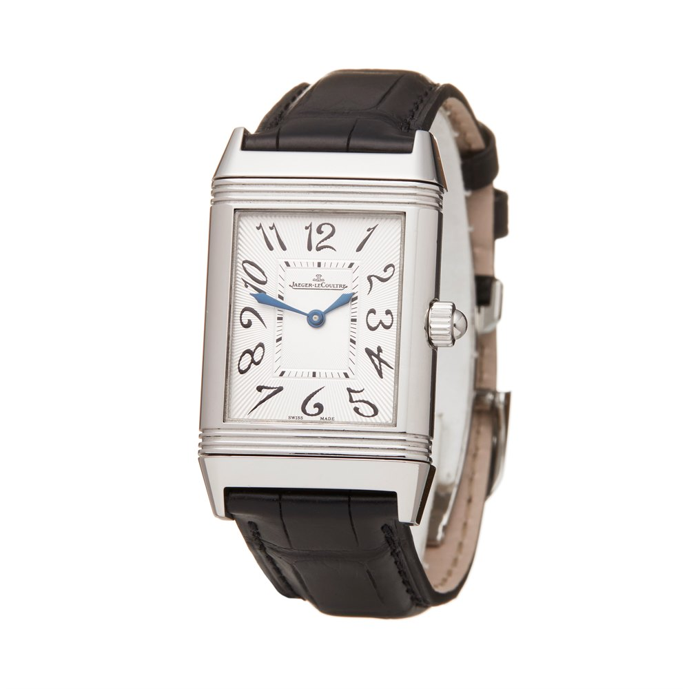 Jaeger-LeCoultre Reverso Duetto Diamond Stainless Steel 256.8.75