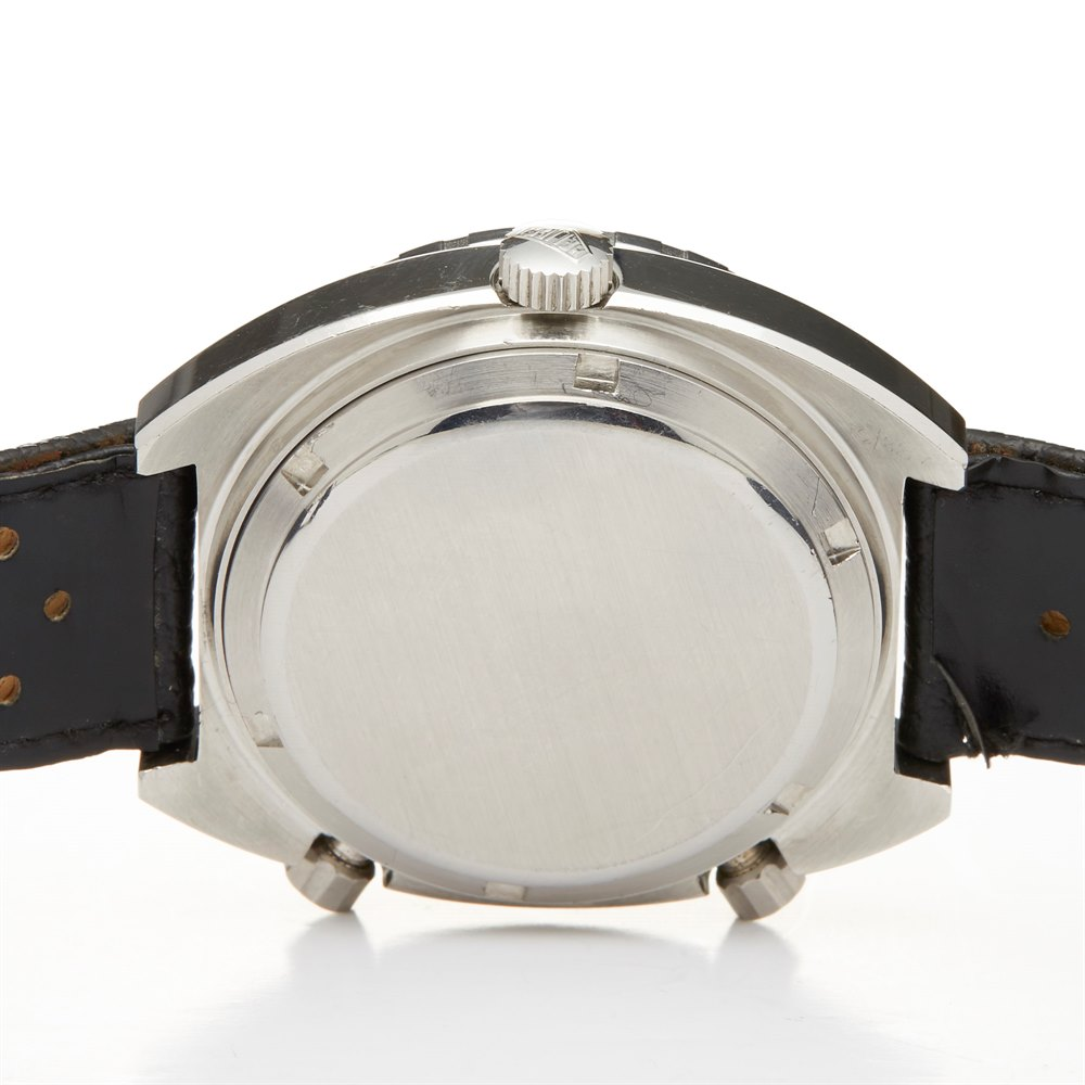 Heuer Autavia GMT Chronograph Stainless Steel 11630