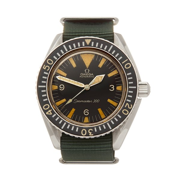 Omega Seamaster 300 Military Stainless Steel - ST 165.024